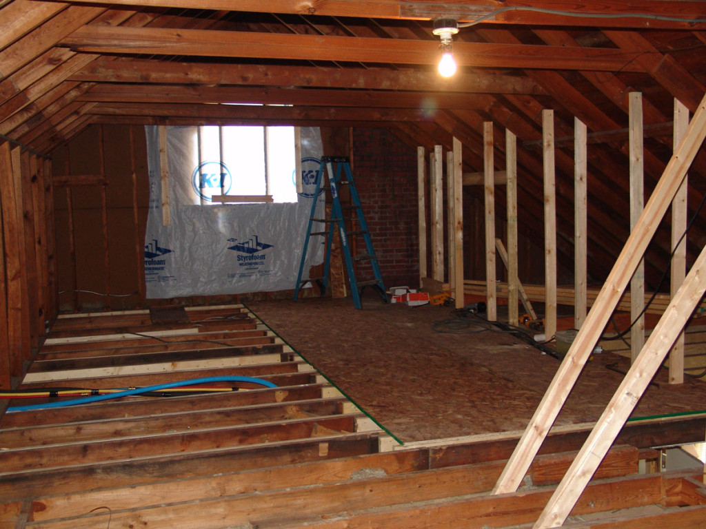 converting an attic into living space popham construction