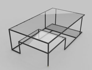 """Right Angles"" coffee table"