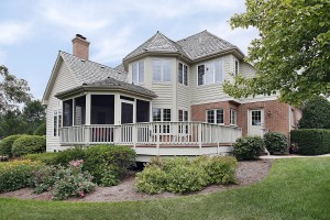 A porch addition should fit the style of the home.