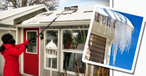 Icicles and ice dams can damage your home; here's how to cope ...